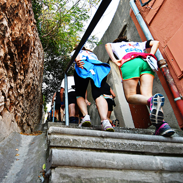 Trail Urbain de Marseille, Trail by night, Course pédestre, trail nocturne, défi de l'équipe, notre dame de la garde