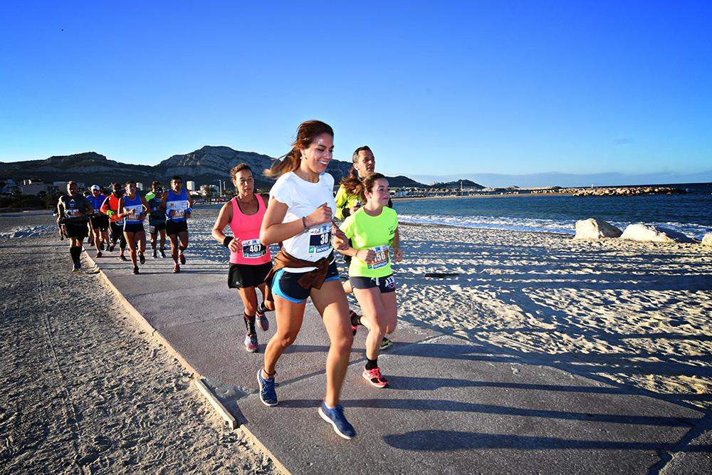 Trail des plages, Trail urbain de Marseille 2018