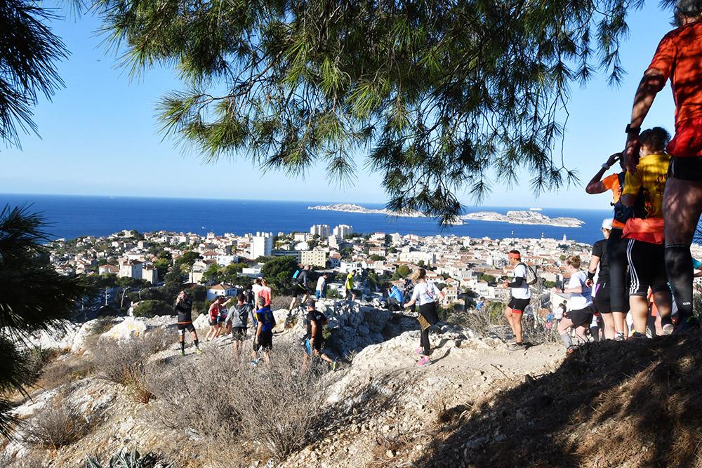 Trail de la bonne Mère, Trail urbain de Marseille 2018