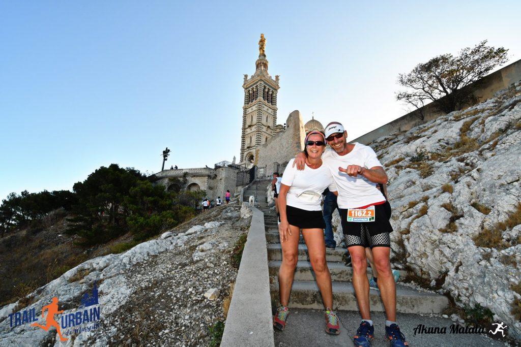 challenge duo, Trail urbain de Marseille