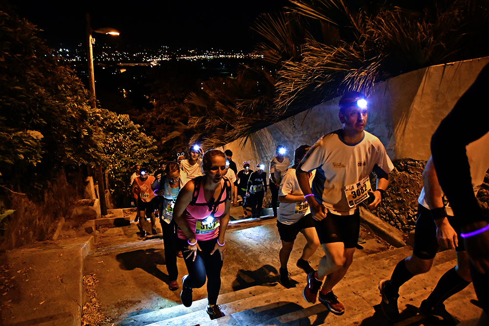 Trail by Night, Trail urbain de Marseille 2018